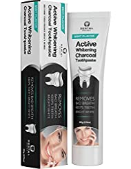Dental Expert Activated Charcoal Teeth Whitening Toothpaste - Mint Flavor - 20g (0.7 Oz)