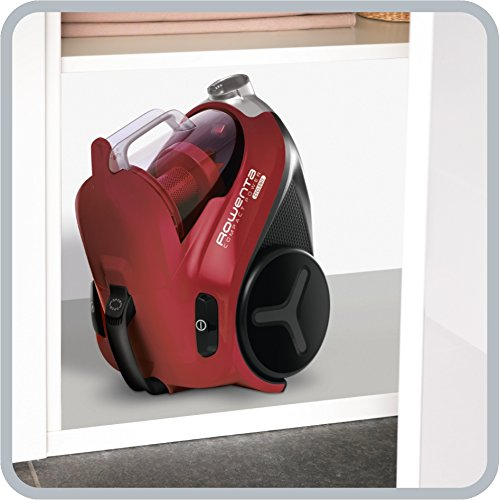 Rowenta Aspirateur Compact Power Cyclonic Rouge