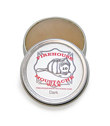 Firehouse Moustache Wax, Dark