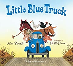 Beep! Beep! Beep! Meet Blue. A muddy country road is no match for this little pick up--that is, until he gets stuck while pushing a dump truck out of the muck. Luckily, Blue has made a pack of farm animal friends along his route. And ...