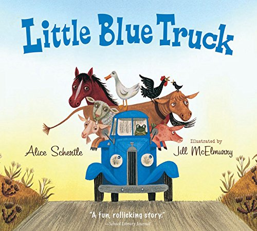 (Little Blue Truck board book)