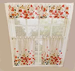 Https Www Amazon Com Bright Colors Kitchen Window Curtain Dp B01h0wzokq