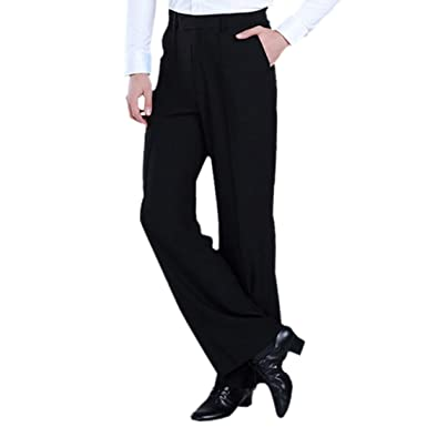 e28741272bb2e Amazon.com: FREAHAP R Men Latin Pant Latin Jazz Tango Dancewear Male ...