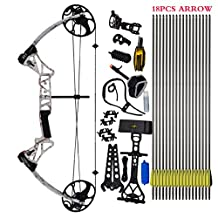 "Compound Bow Package,M1,19""-30"" Draw Length,19-70Lbs Draw Weight,320fps IBO Via Fedex Free Shipping Service Delivered Within 7Days"