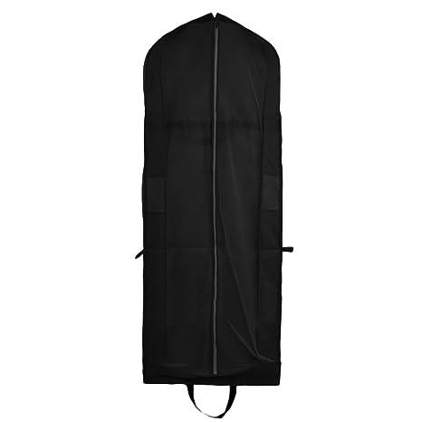 Cubierta de Ropa, Transpirable Bolsa de Trajes Larga para Vestidos de Novia o de Fiesta, Trajes, Abrigos, Funda para Ropa con Cremallera maneja (180 x ...