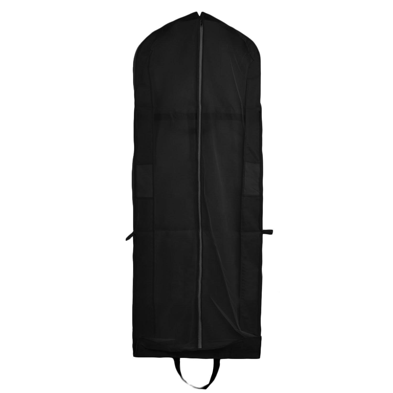 Cubierta de Ropa, Transpirable Bolsa de Trajes Larga para Vestidos de Novia o de Fiesta