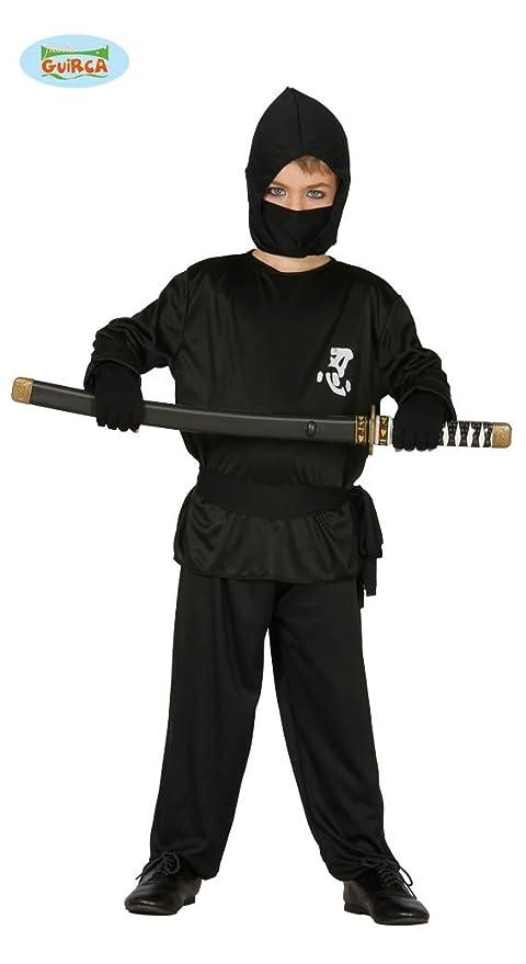 Disfraz de Ninja negro para niño: Amazon.es: Juguetes y juegos