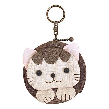 Kit de patchwork Monedero con llavero Cat: Amazon.es: Hogar