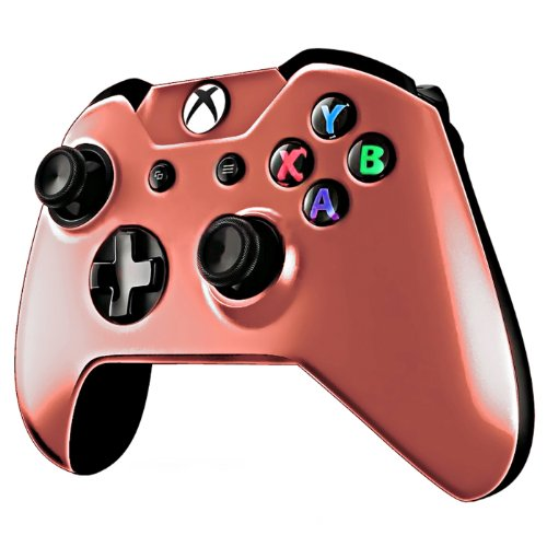 HDE Protective Top Shell Crystal Cover Case for Xbox One Gaming Controllers (Red)