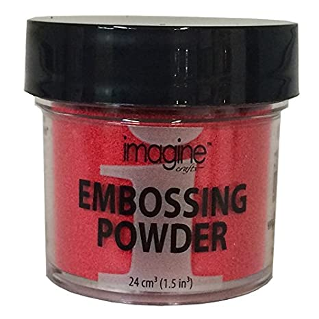 Imagine, Embossing Powder, 1 ounce, Black Imagine Crafts EB000007