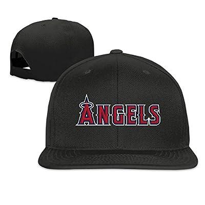Los Angeles Angels Baseball Adjustable Flat Brim Cap