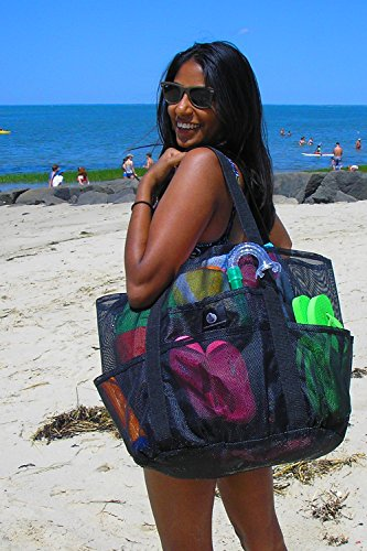 Amazon.com | Saltwater Canvas Whale Bag (R), 9 pockets, Big Family ...