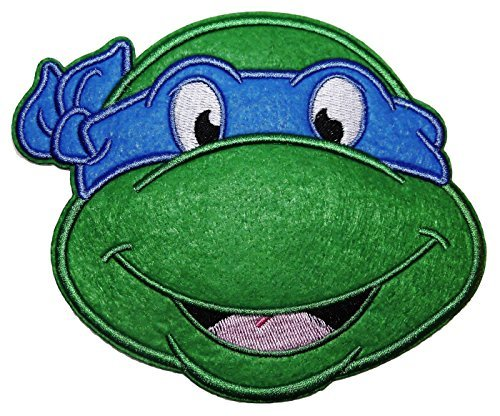 Teenage Mutant Ninja Turtles LEONARDO BLUE MASK Head Shot Large 5