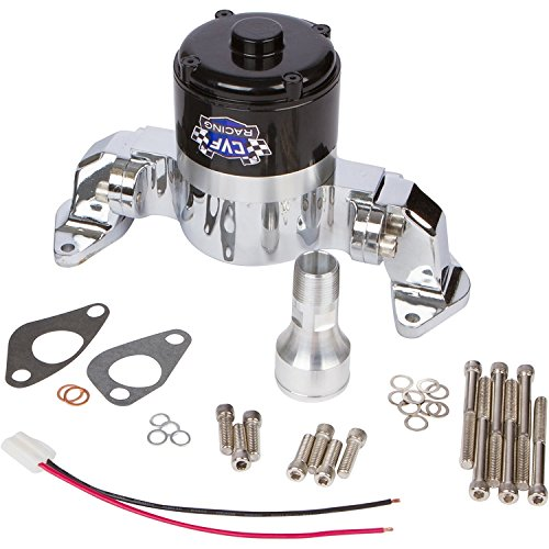 - Chevy Big Block Electric Water Pump - 35 GPM, Chrome Aluminum, 396, 427, 454