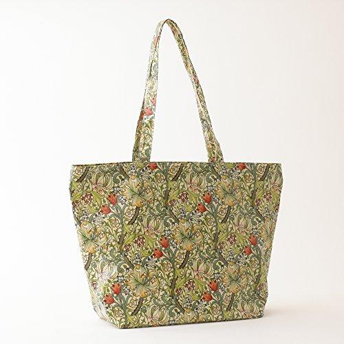 Zip Tote Handled Golden Top Licensed Morris Bag Pvc Lily William Shoulder Long vwgYqTw