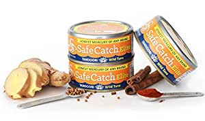 Safe Catch Seasoned Elite Wild Tuna (Tandoori 6 pack)