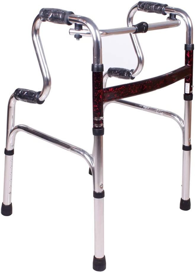 AXD Folding Walker, Height Adjustable Toilet Grab Bar Handrail Safety Support Handrails Shower Safe Handle, for Elderly, Disabled, Injury