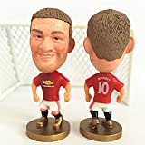 Manchester United Fc Wayne Rooney #10 Toy Figure 2.5