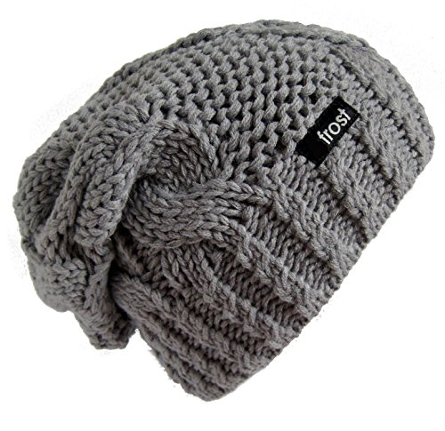 Frost Hats Slouchy Beanie for Women | Plush Knitted Winter H