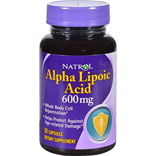 Natrol Alpha Lipoic Acid 600Mg