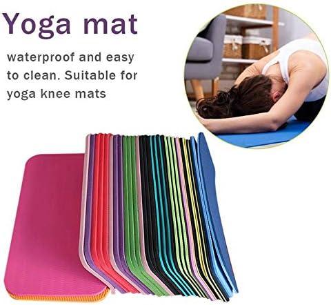 210 leenBonnie Nuovo Tappetino da Yoga Spesso Antiscivolo Pad Fitness Universale Physio Pilates Tappetino da Campeggio Antiscivolo 380 6 mm