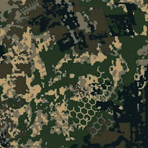Digi - Hex Army Camo - 1 Square Meter - Hydrographic Film - Water Transfer Printing - Hydro Dipping - Hydrographics Film - Hydro Dip Film