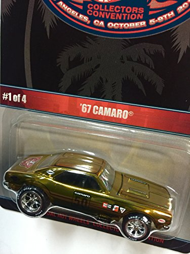 Hot Wheels 30th Annual Collectors Convention '67 Camaro Limited To 2600 Individually Numbered Cars by Hot Wheels (Image #2)