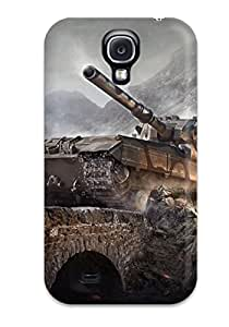 8814186K36373083 Top Quality Rugged Fv215b 183 World Of Tanks Case Cover For Galaxy S4