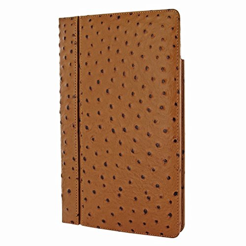 Piel Frama 695 Tan Ostrich Magnetic Leather Case for Apple iPad Air 2 by Piel Frama