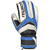 Reusch Soccer Pulse Prime R2 Goalkeeper Glove, Blue/White, Size 8