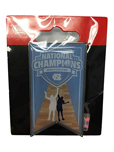 North Carolina Tar Heels Lapel Pins - aminco North Carolina Tar Heels 2017 NCAA Men's Basketball Champions Banner Lapel Pin