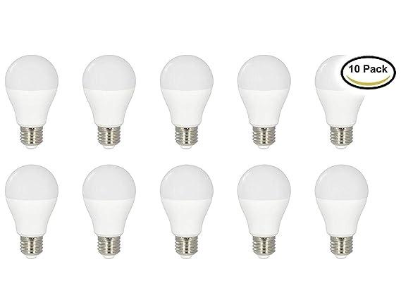 (LA) 10x Bombilla LED A60 7W 725 lumenes! luz blanco neutro, 4500K, sustituyen 60w de convencional. 4000-4500K: Amazon.es: Iluminación