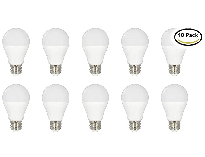 Led Atomant (LA) Pack 10x Bombilla Led A60 7W, 725 Lumenes Reales Color