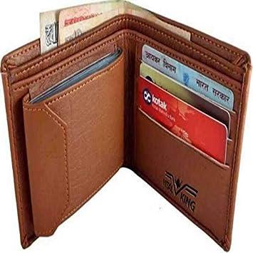 Eartech Men Brown Artificial Leather Wallet  10 Card Slots  Wallets
