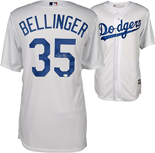 Replica Authentic Jersey - Cody Bellinger Los Angeles Dodgers Autographed Majestic White Replica Jersey - Fanatics Authentic Certified