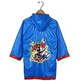 Mickey Mouse Boys Blue Rain Slicker Raincoat