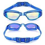 Aegend Swim Goggles, Swimming Goggles No Leaking