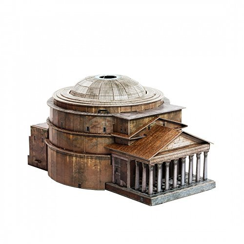 Clever Paper Innovative 3D-Puzzles - The Panteon in Rome (Italy) - Historical Buildings Series by (444)