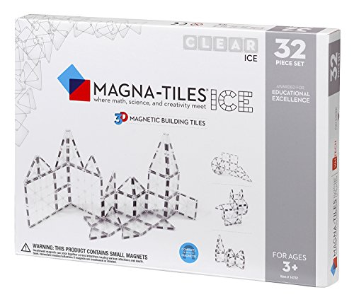 Magna-Tiles® ICE, 32 Piece Set