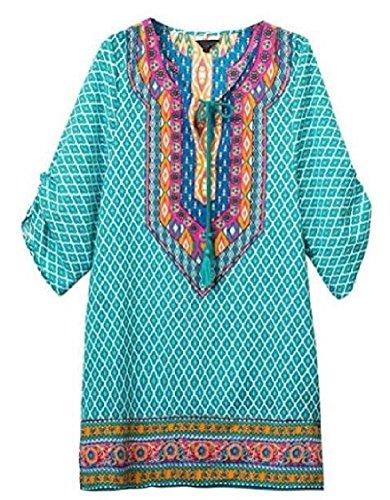 Collo Donne Spiaggia Boemia Cravatta Etnico Stile Stampate 8 Al D'epoca Jaycargogo Tubino Estate wfIaqUUx