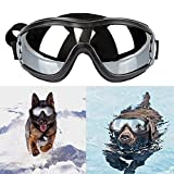 Anskp Stylish and Fun Pet Sunglasses Dog Puppy UV Goggles Sunglasses Waterproof Windproof with Adjustable Strap Protection Sun Glasses for Dog/Cat, for Dogs and Pet Lover