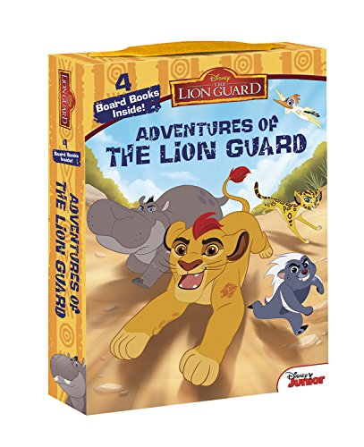 The Lion Guard Adventures of The Lion Guard: Board Book Box Set