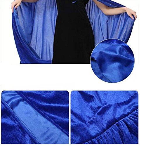 Shineflow - Abrigo - capa - para mujer Azul