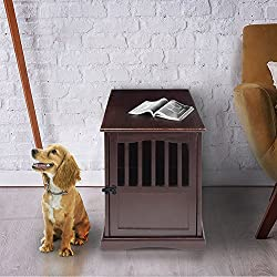 Yu Shan 600-44 Pet Crate End Table, 24-Inch