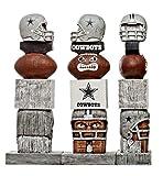 Tiki Totem Statue NFL Dallas Cowboys Football Team