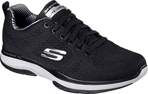 Addestratore Di Skechers Scoppio Tr-coram Mens Black/Grey