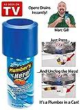 Plumber's Hero Kit - Unclog Drains Instantly - 20