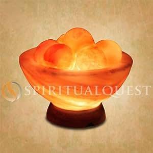 Himalayan Salt Lamp With Healing Balls : Amazon.com: Himalayan Salt Lamp Bowl with Healing Balls: Home Improvement