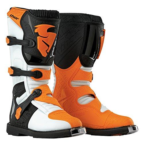 Thor Motocross-Stiefel Blitz Orange Gr. 49.5