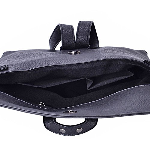 Adjustable with Black Removable 24x19 Cm Bag Crossbody 5x6 TJC Strap wZqESUwvt